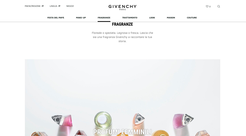 Givenchy Beauty profumo