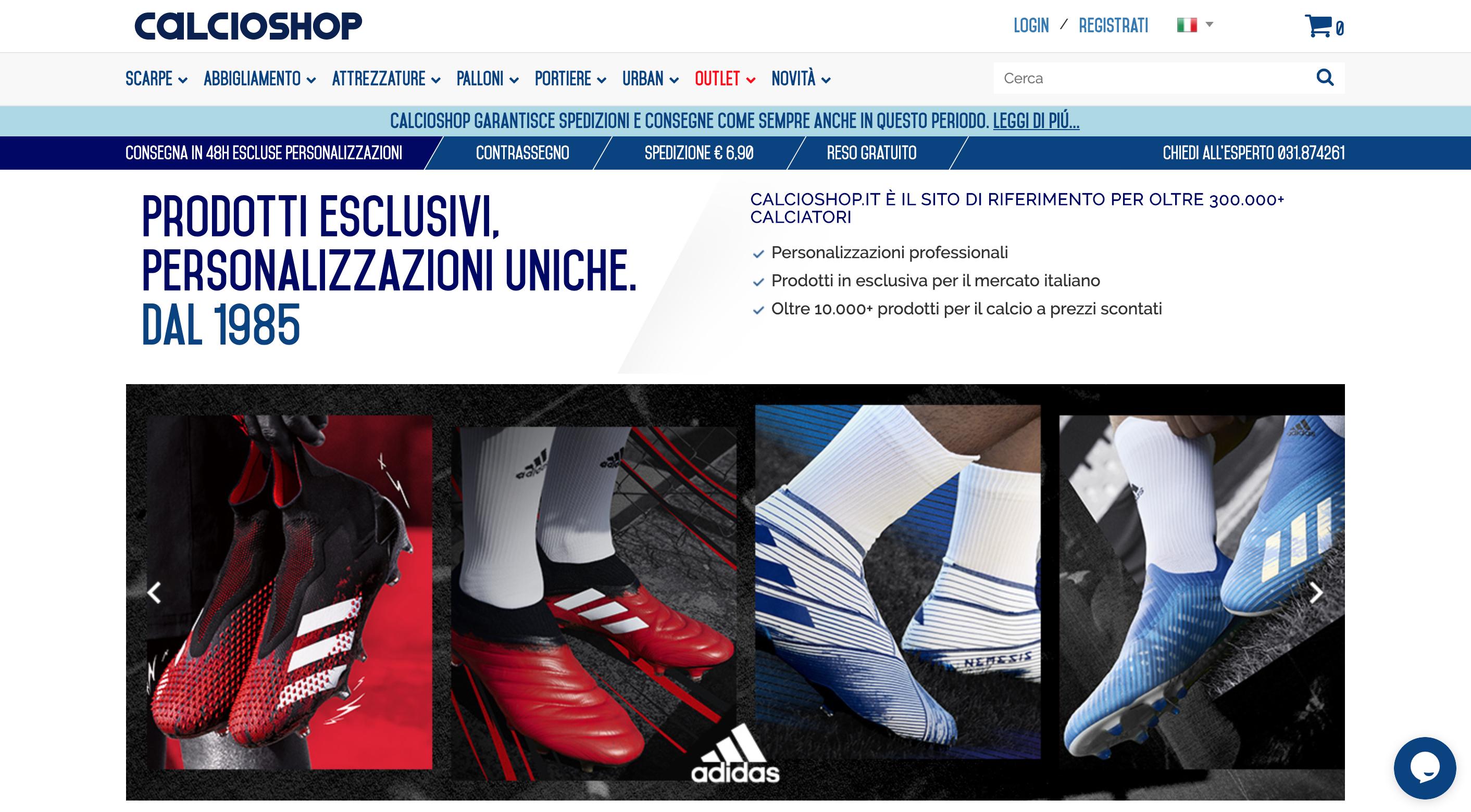 Calcio Sport attrezzature sport e abbigliamento sportivo