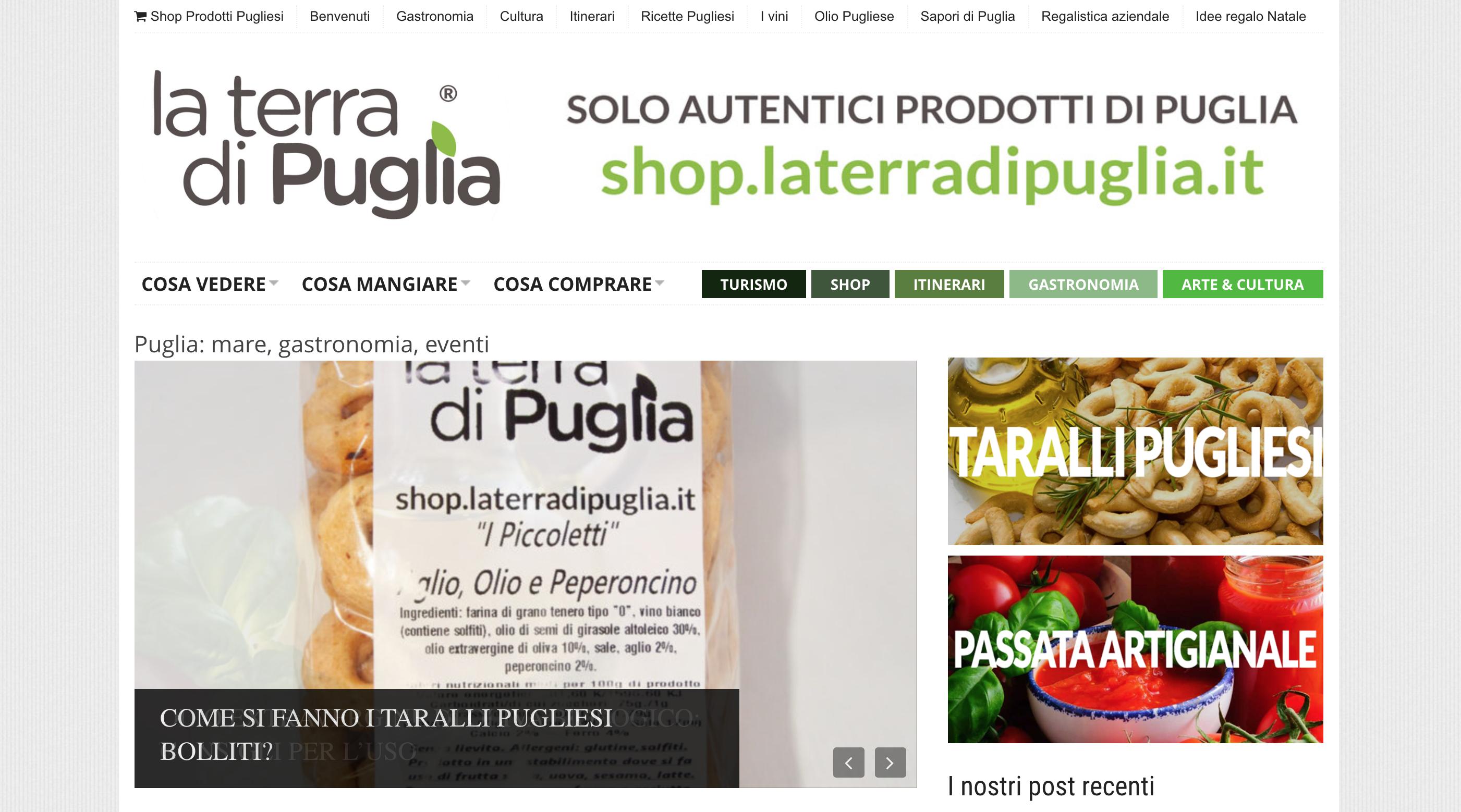 La terra di Puglia