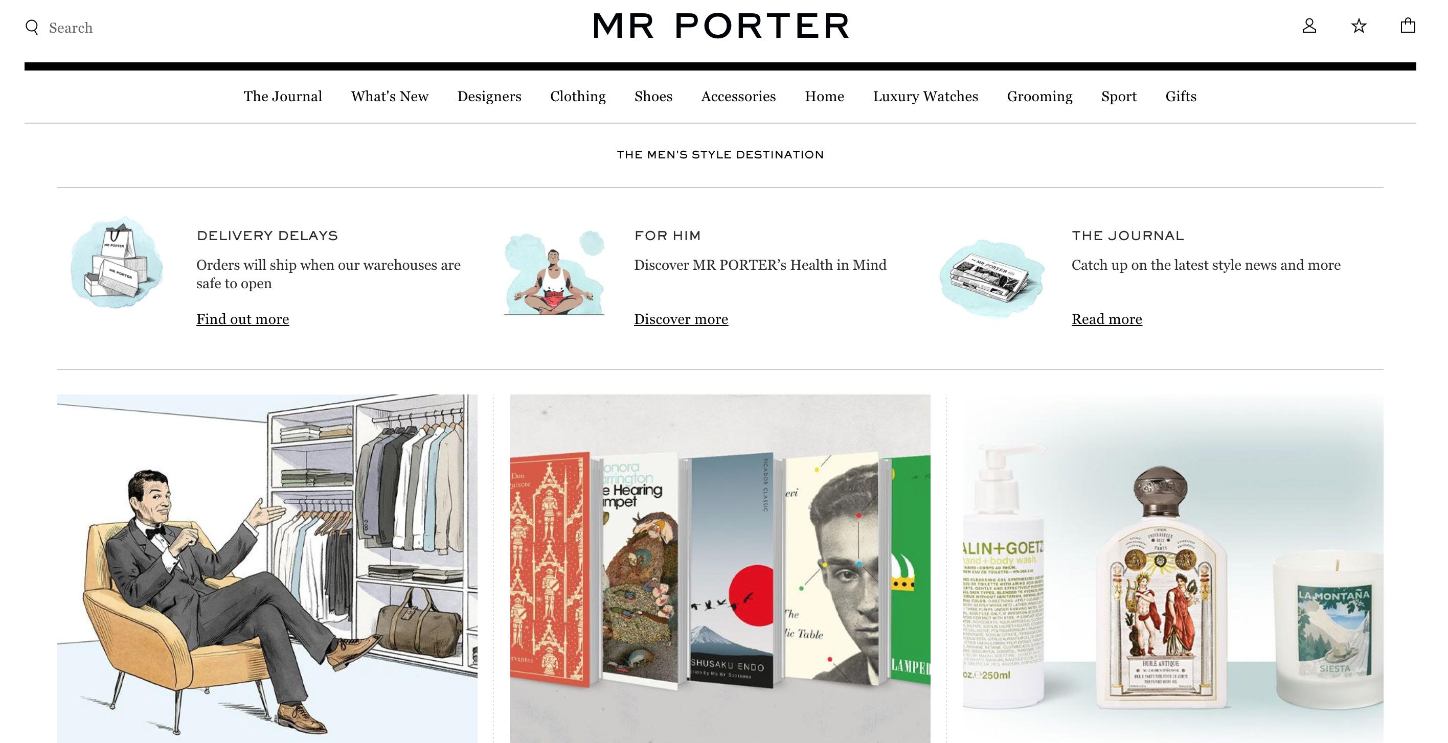 Mr Porter cosmetici uomo