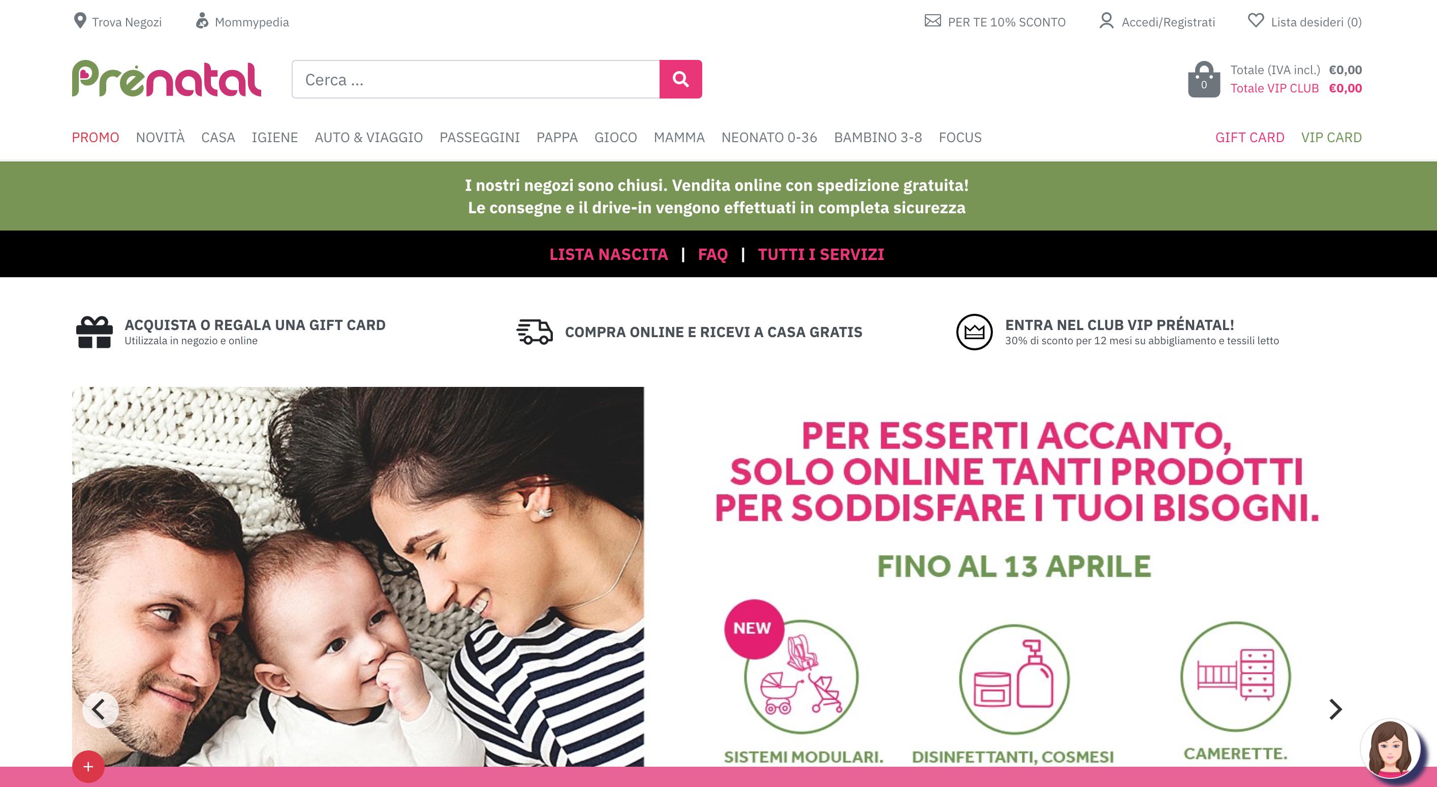 Prenatal abbigliamento per bambini