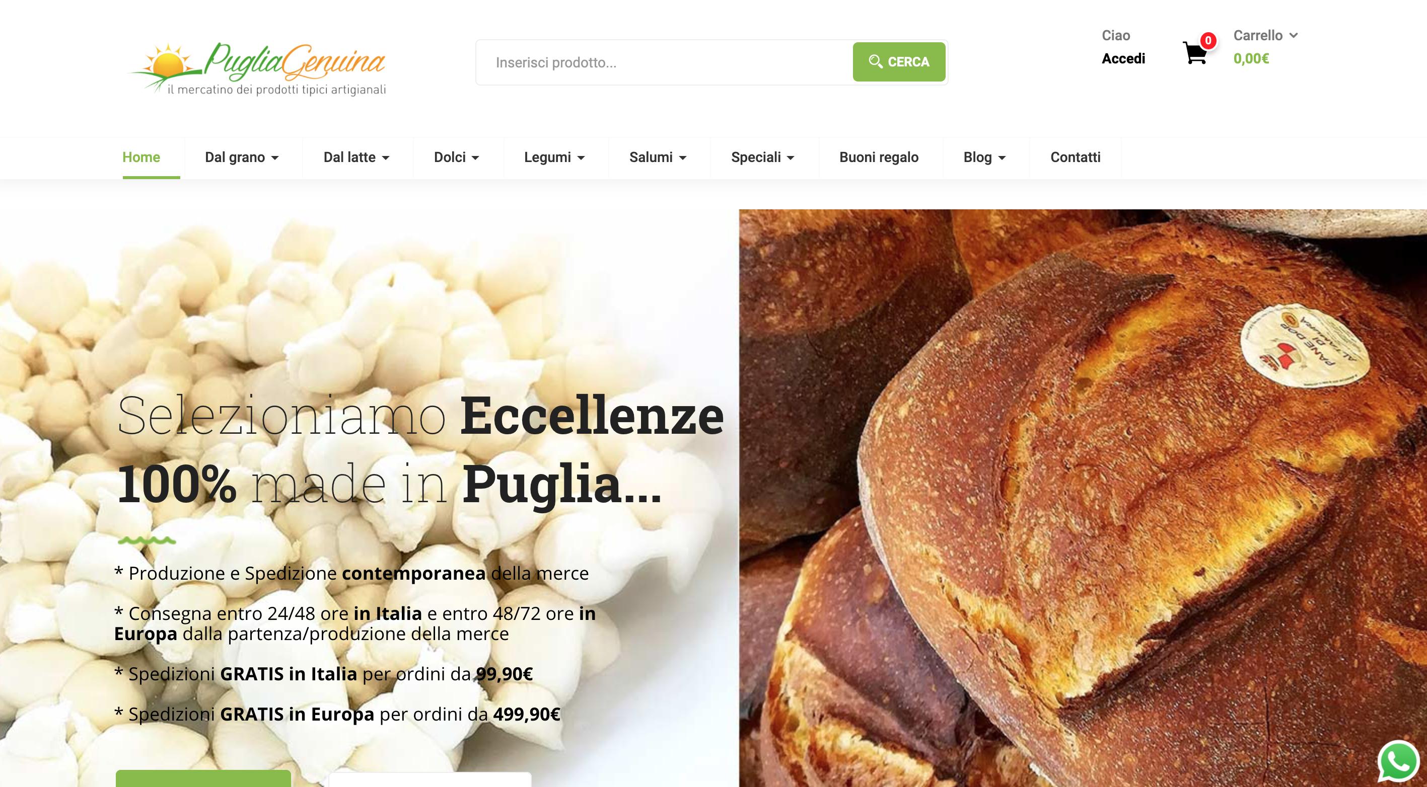 Puglia Genuina prodotti tipici