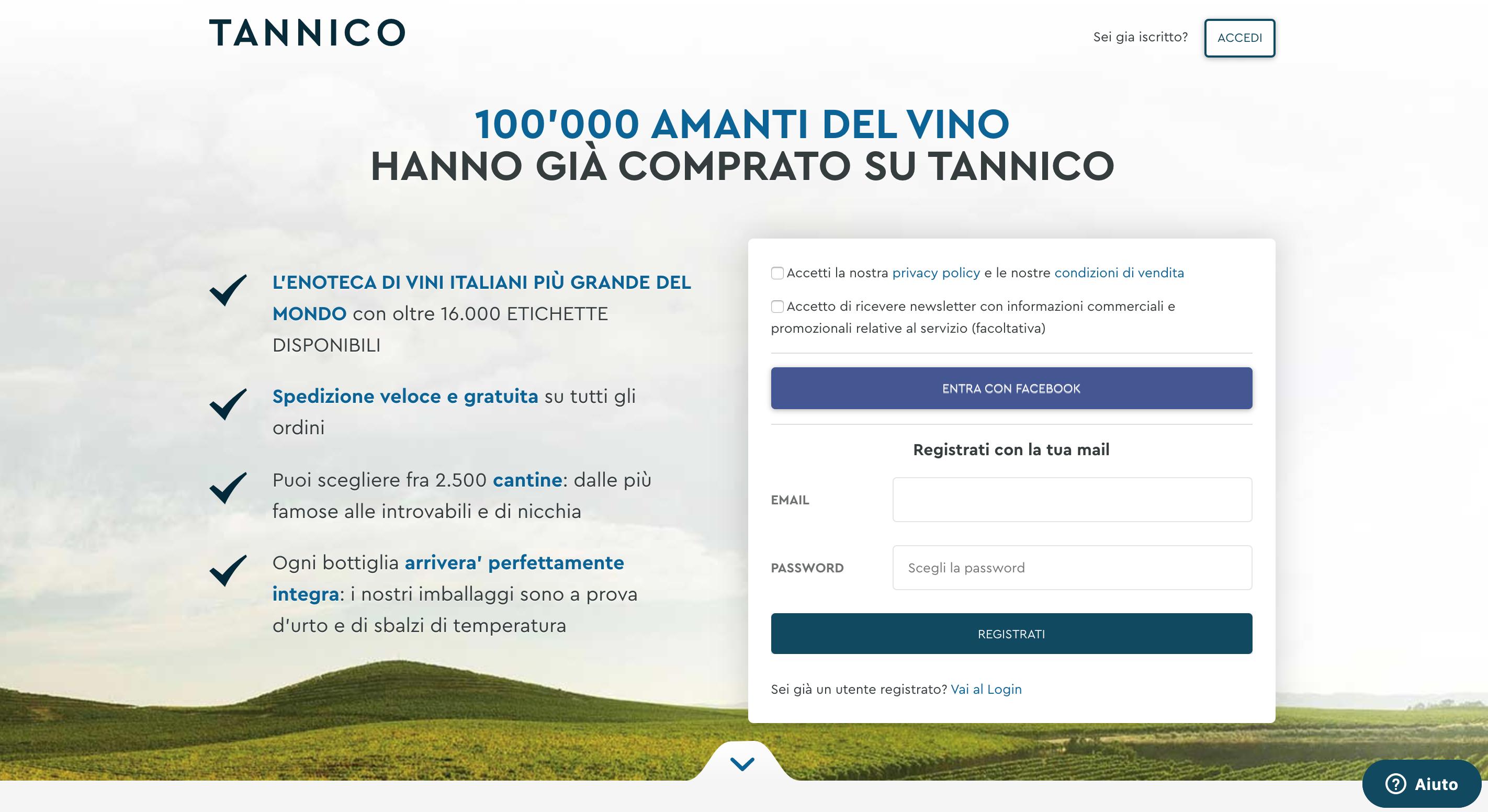 Tannico Vino online