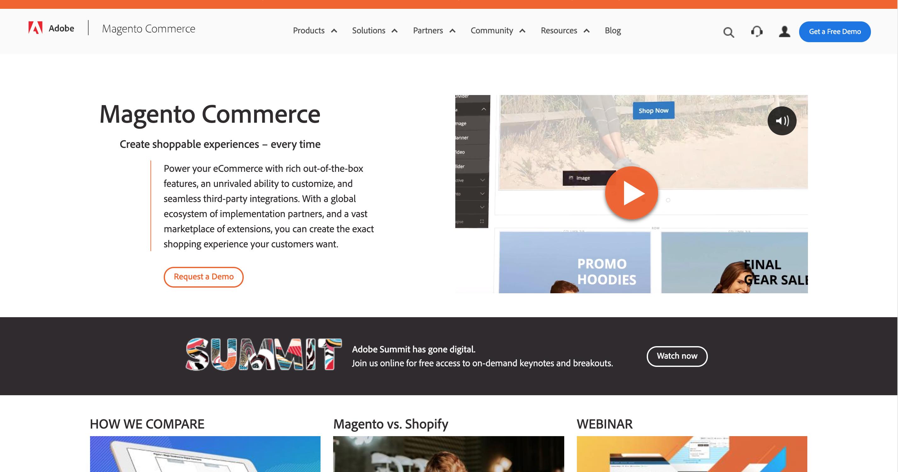 realizzare un e-commerce di successo con Magento