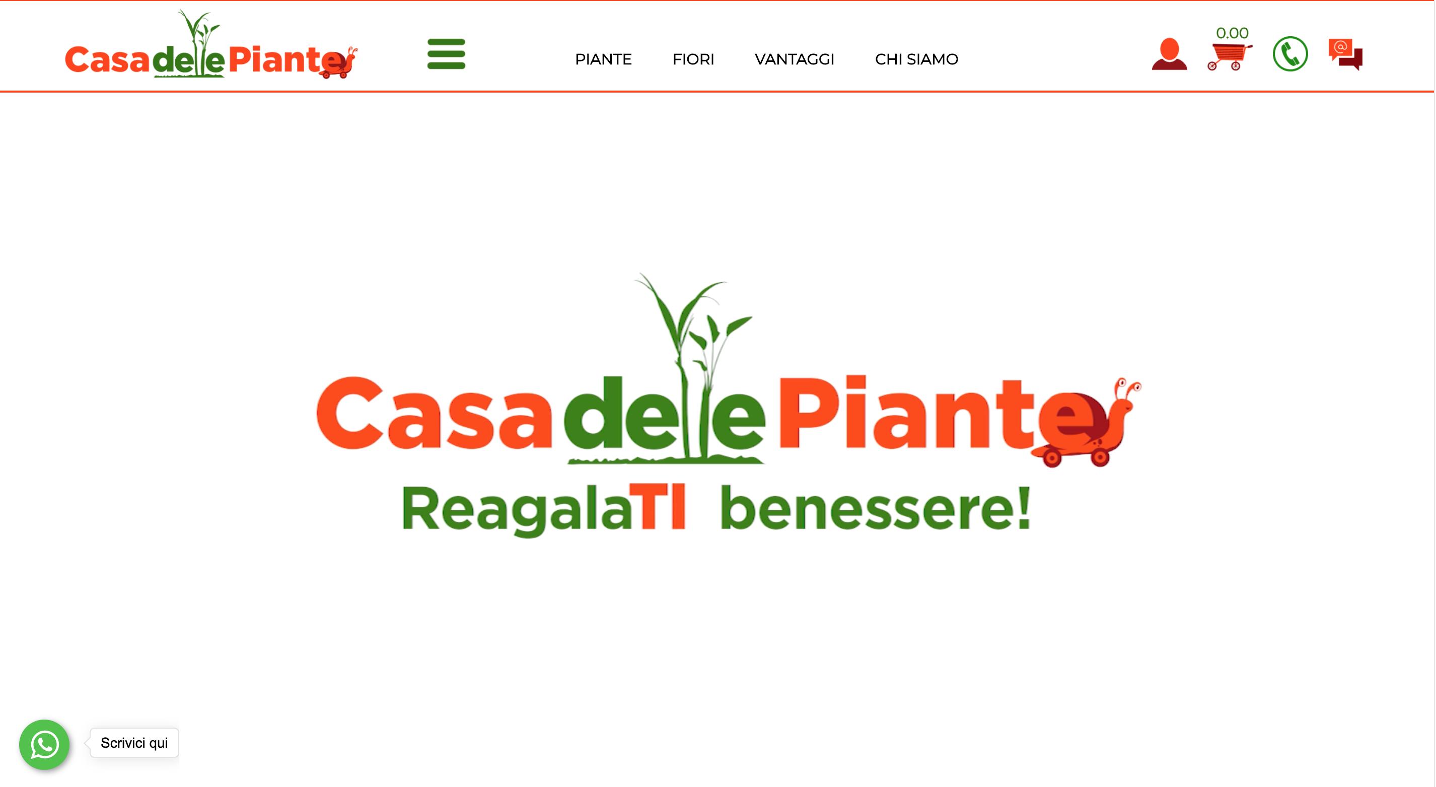 Casa delle Piante siti piante online