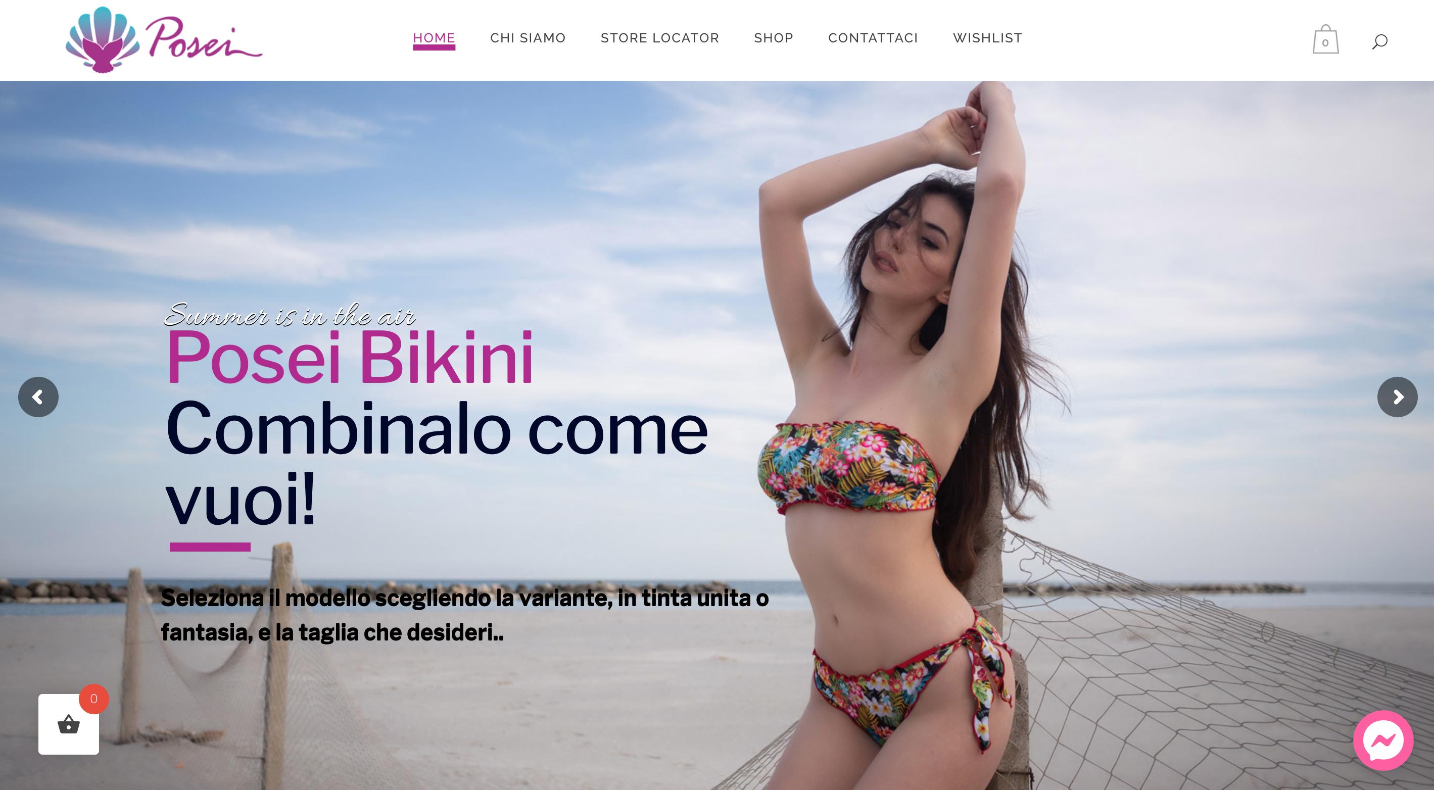 Posei Bikini