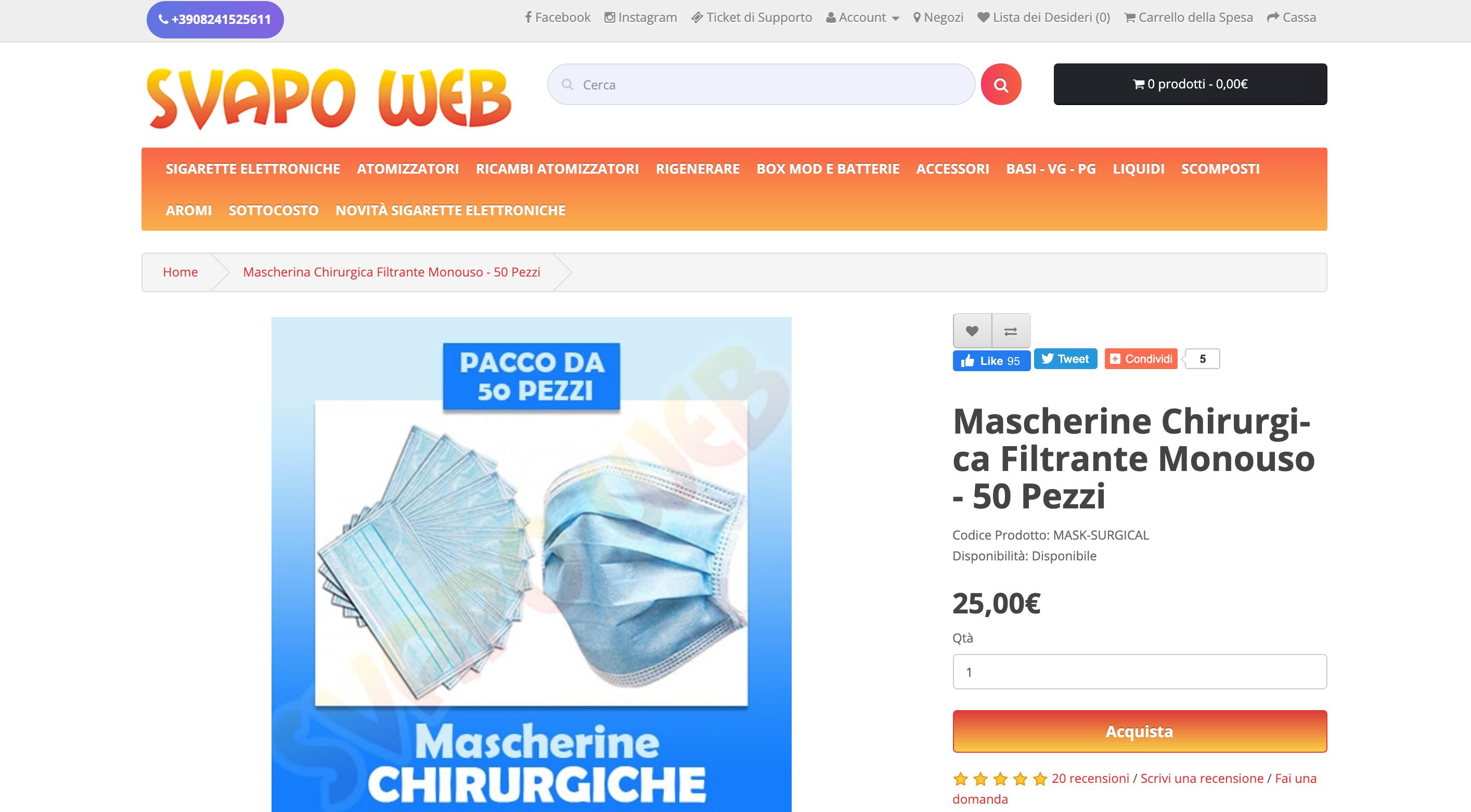 Svapo Web