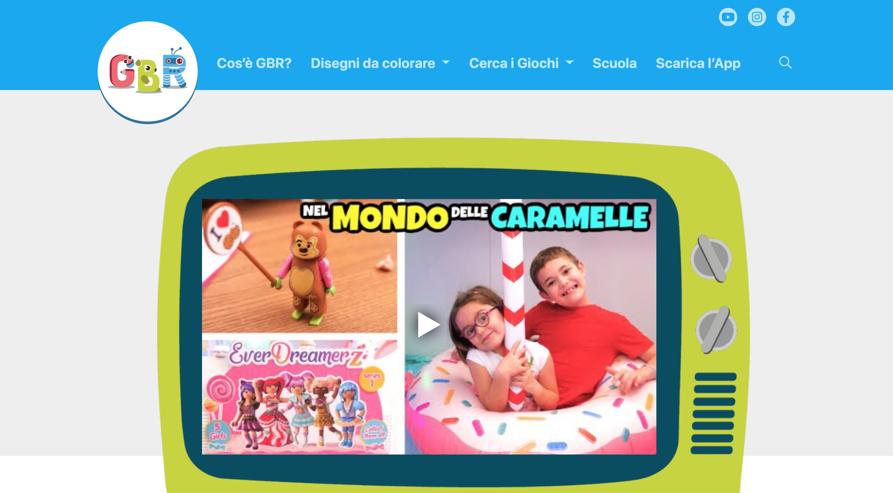 GBR negozio giocattoli online di giochi per bambini e ragazzi