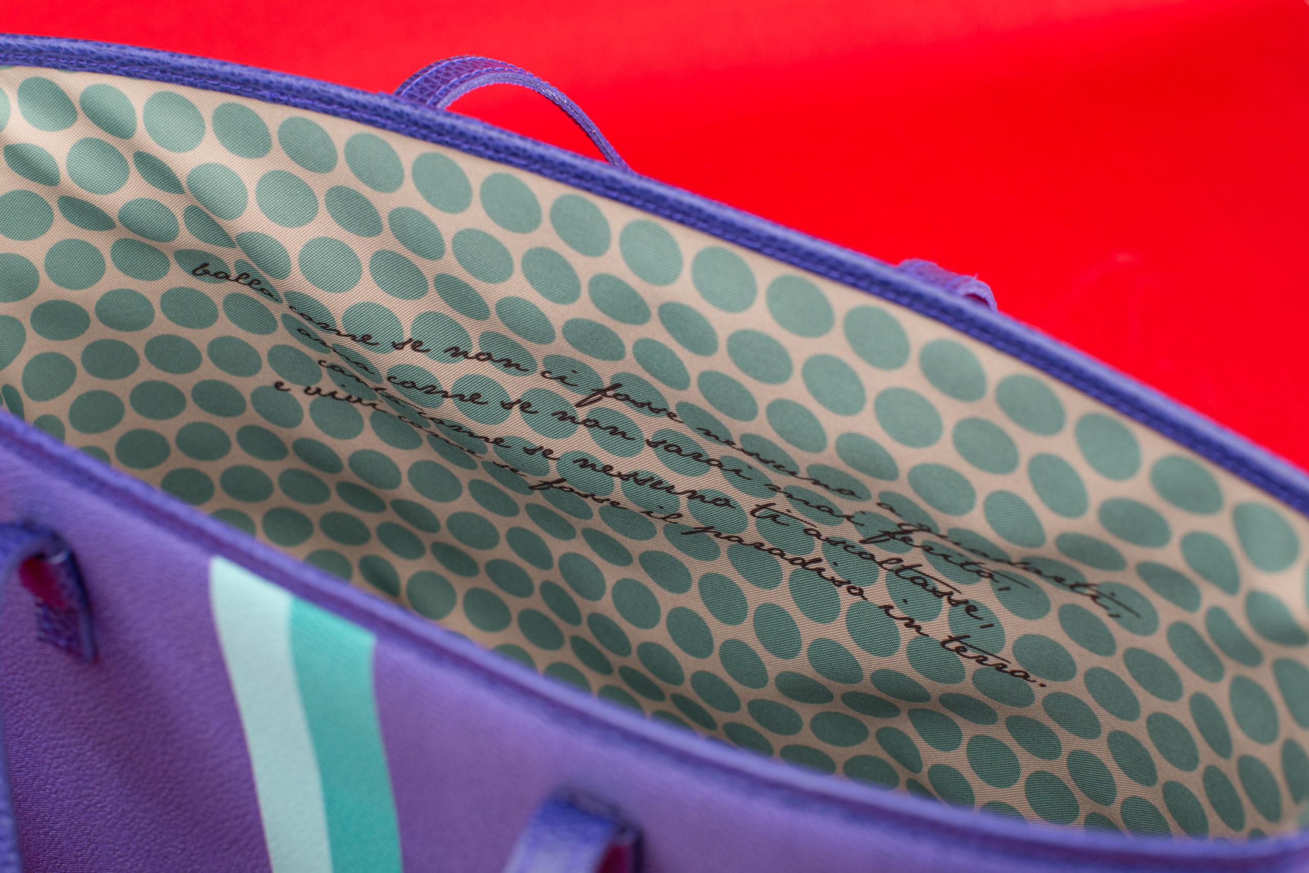 dedica su borsa Be Your Bag