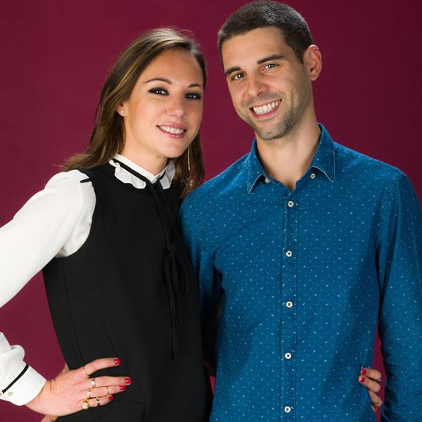 Giacomo Pieri Vincentelli ed Elena Co-Owner & Founder Be Your Bag