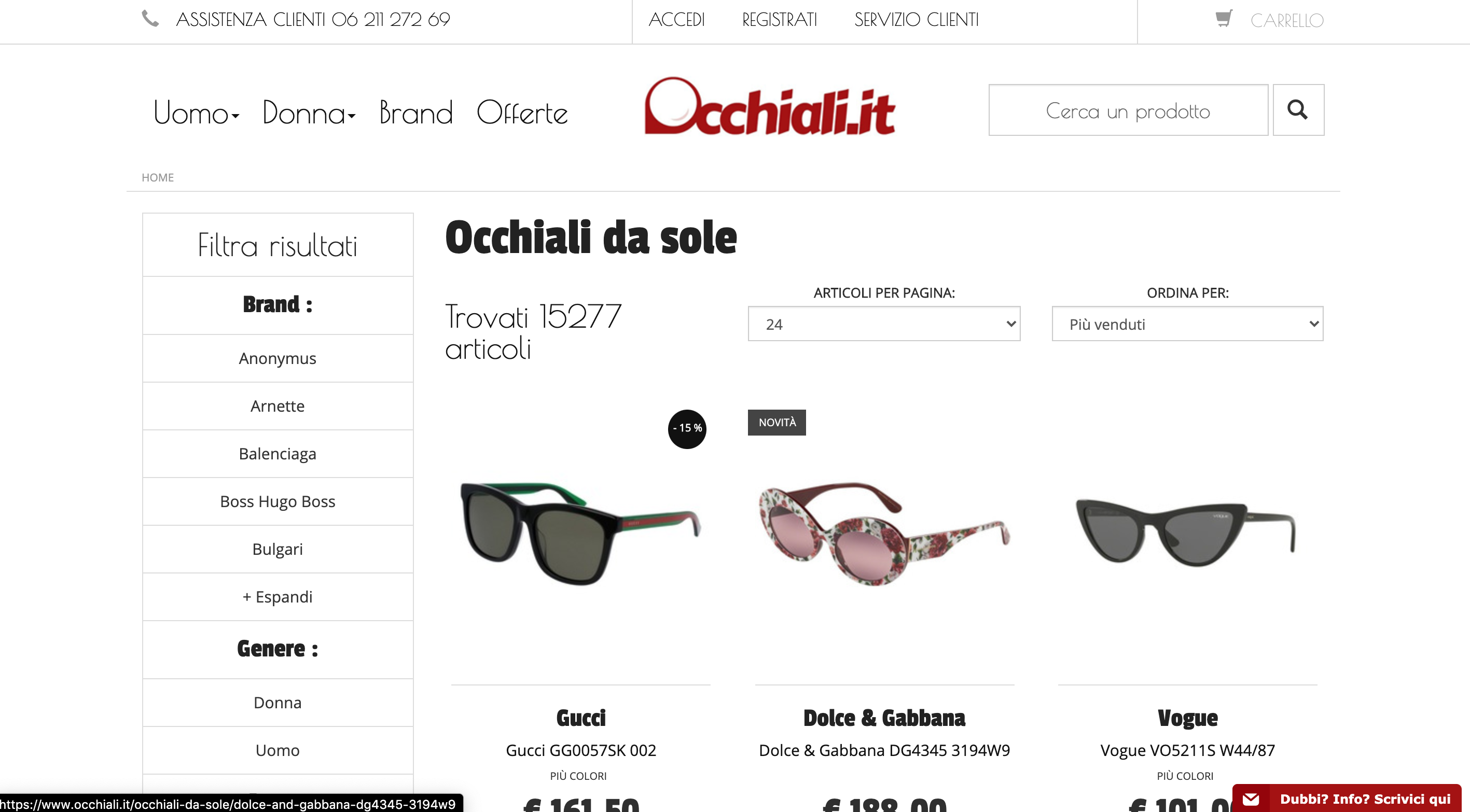 Occhiali.it occhiali da sole