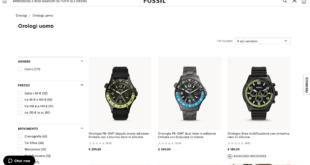 Fossil orologi online