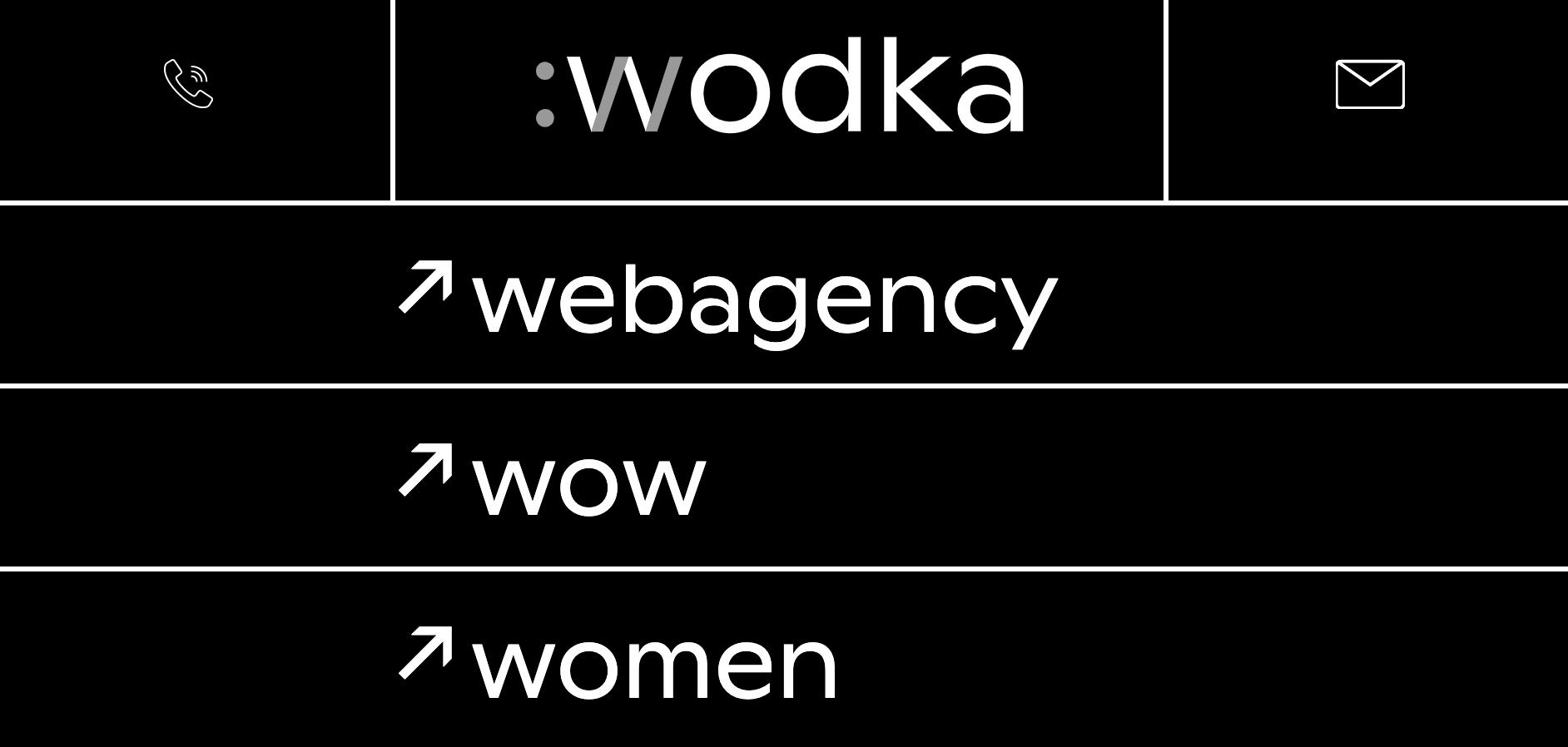 Wodka web agency ecommerce