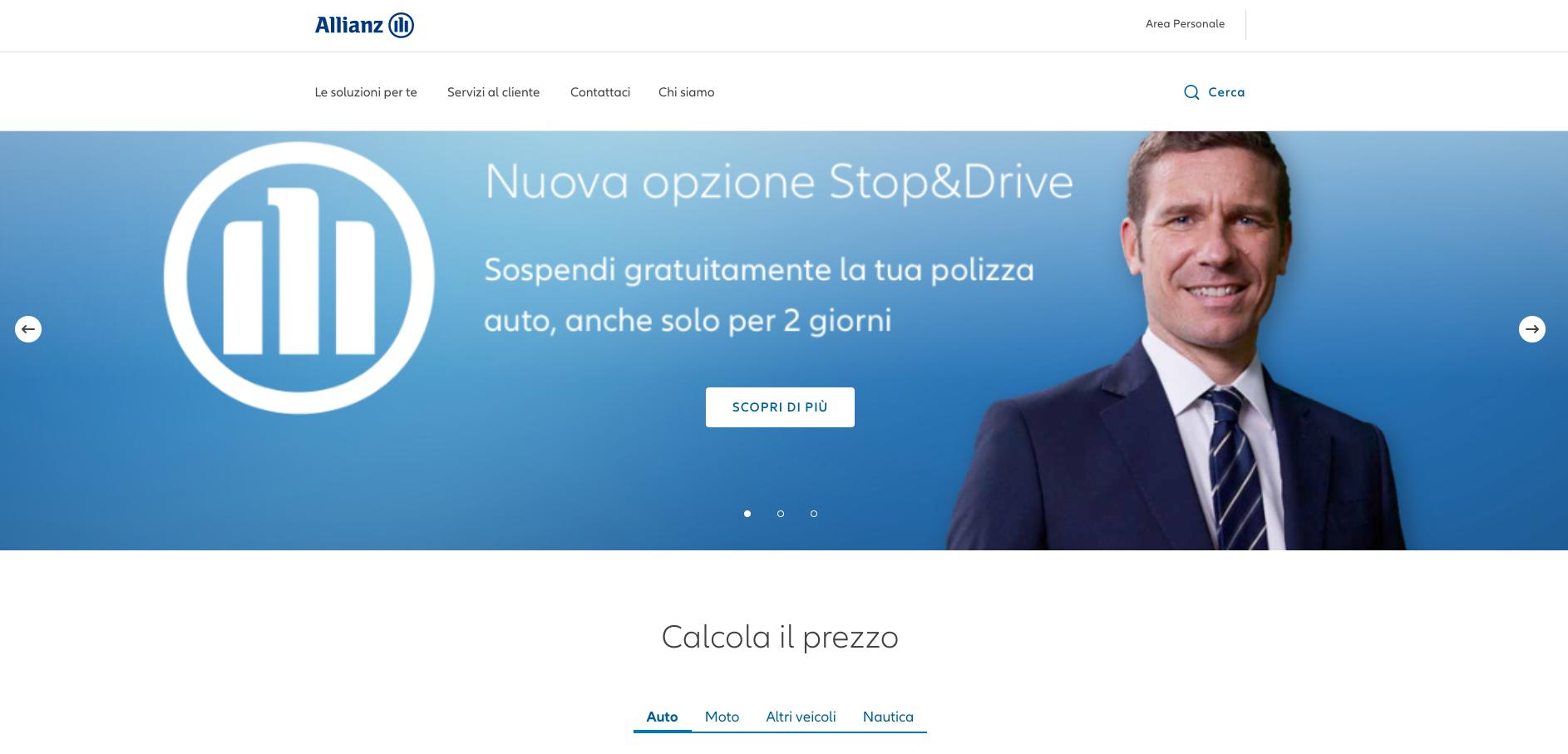 Allianz Assicurazione online