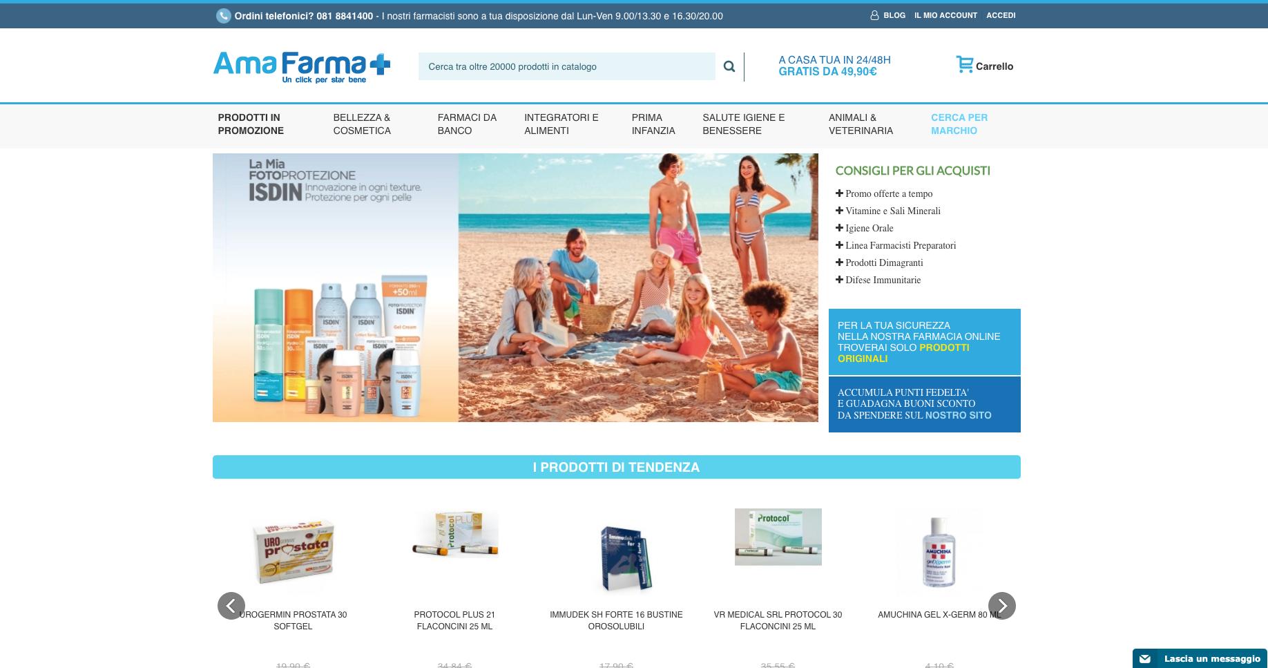 Amafarma Farmacia online