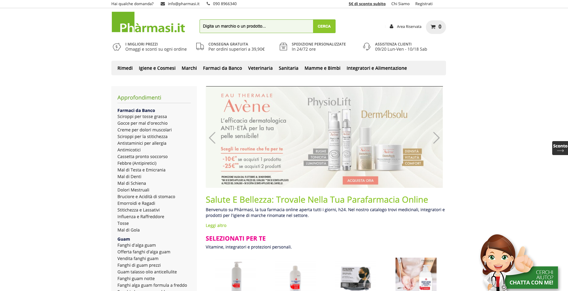 Phàrmasi Farmacia online