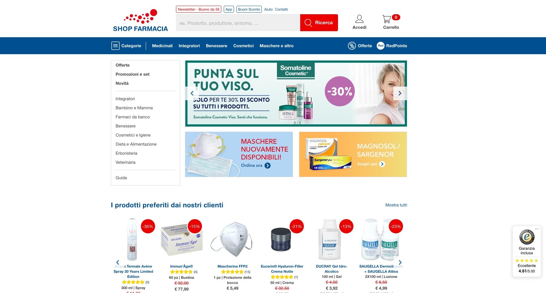 Shop Farmacia online