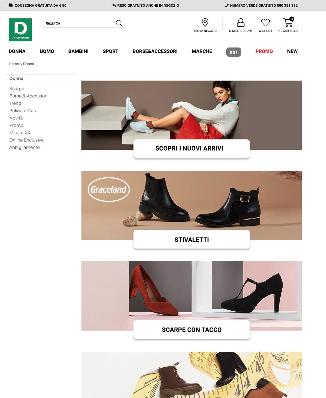 Deichmann scarpe donna line