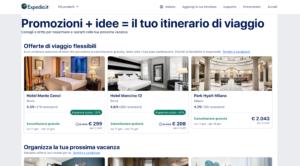 Expedia vacanze offerta