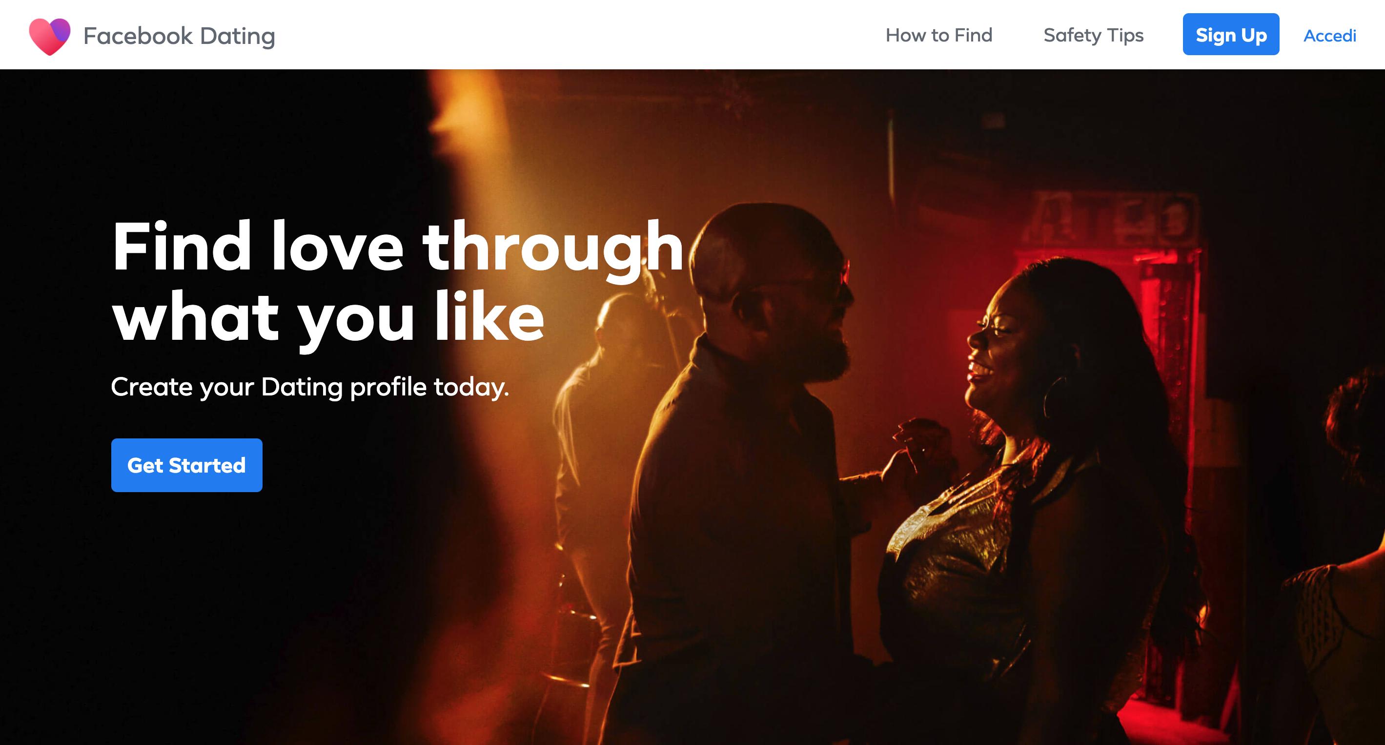 Facebook Dating cos'è, come funziona e come attivare il servizio