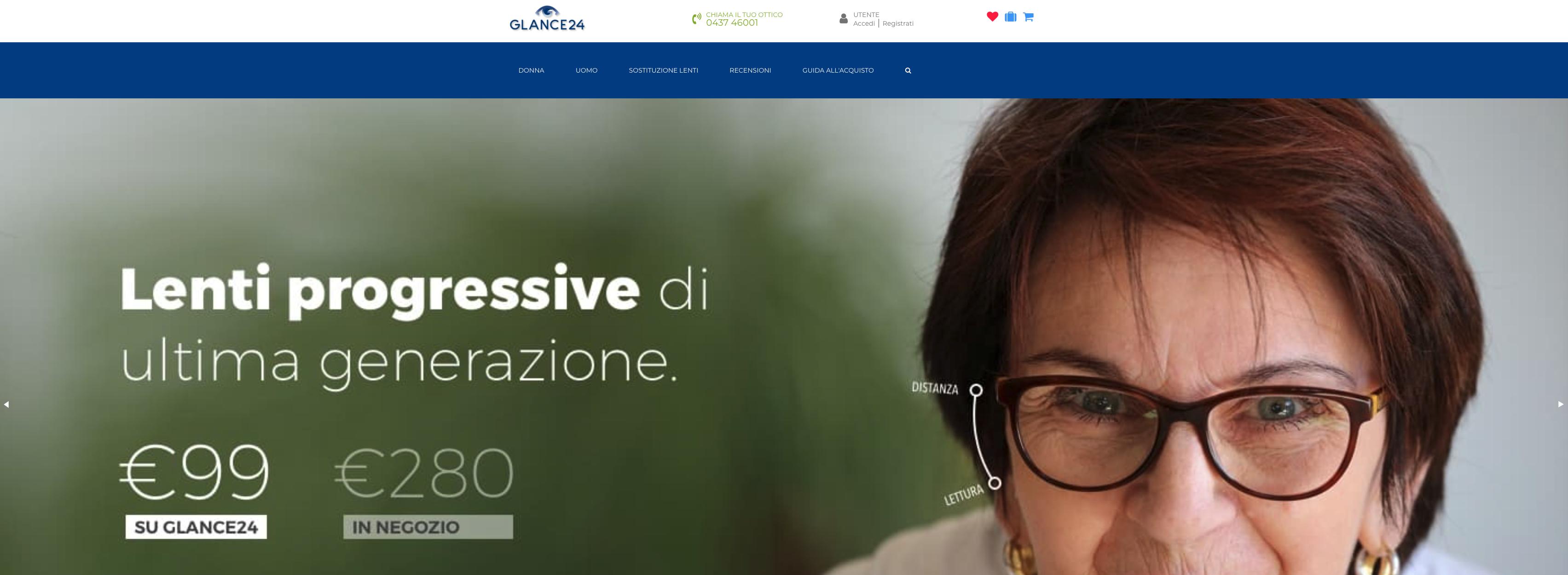 Glance24.com occhiali da vista
