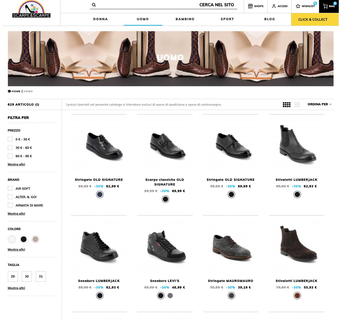 Scarpescarpestore.com scarpe uomo online
