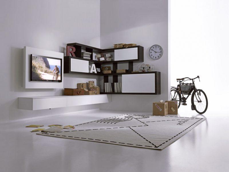 Mobile angolare soggiorno