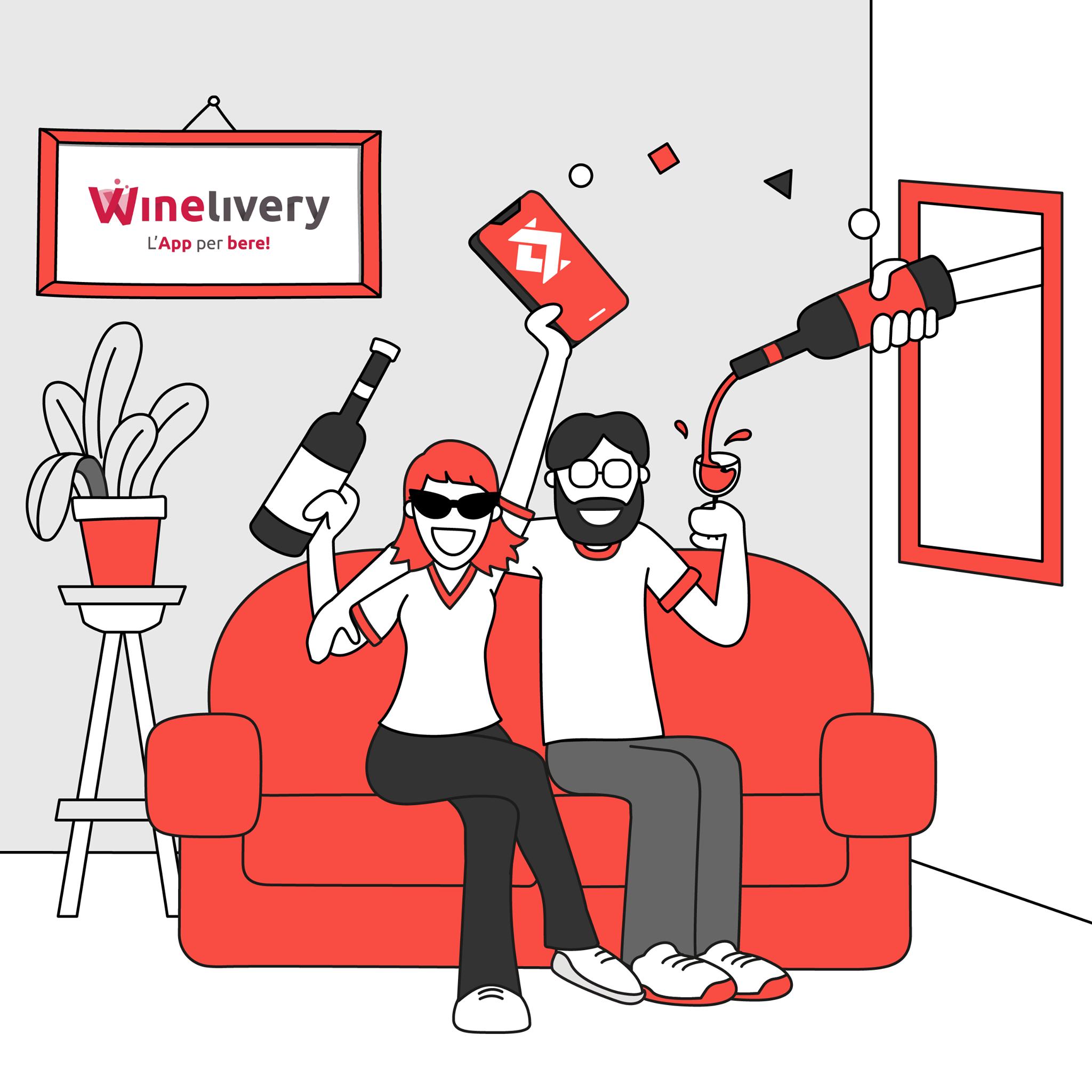 Comodità fa rima con semplicità: sull'app Winelivery da oggi si paga con Satispay
