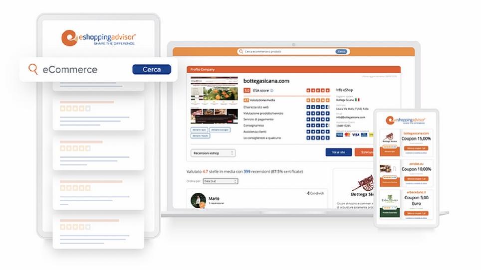 eShoppingAdvisor ti aiuta a comprare da e-commerce italiani in modo sicuro