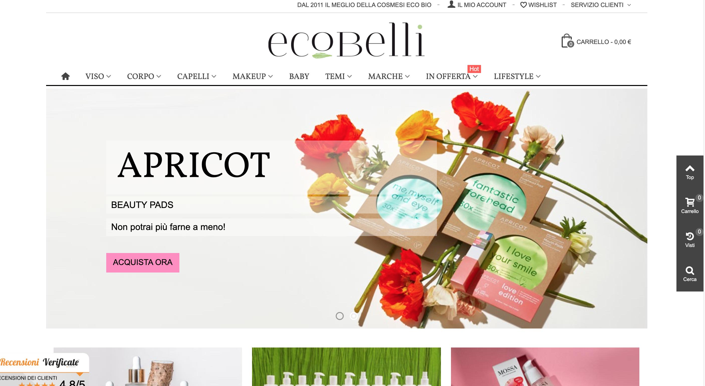 ecobelli cosmetici ecologici
